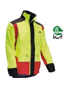 Die Jacke besitzt ein RainTex® Membrane dieses sorgt für absoluten Nässeschutz: Es ist zu 100 % wasserdicht und winddicht als auch hoch atmungsaktiv